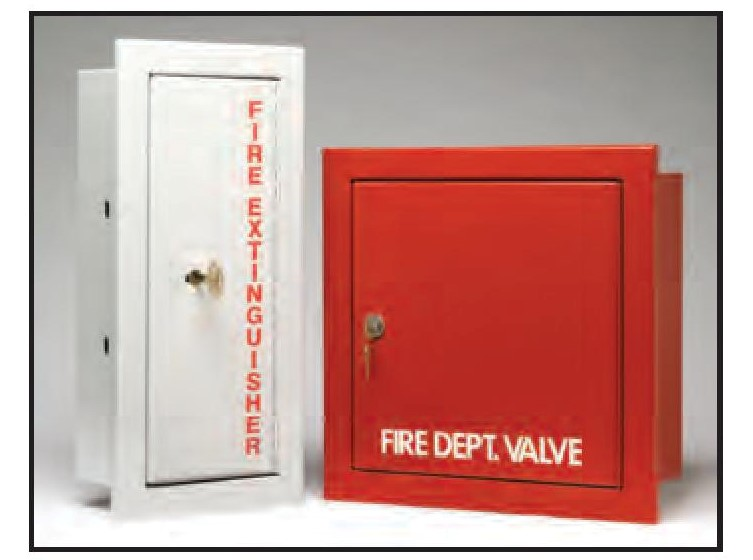 DEC valve cabinet