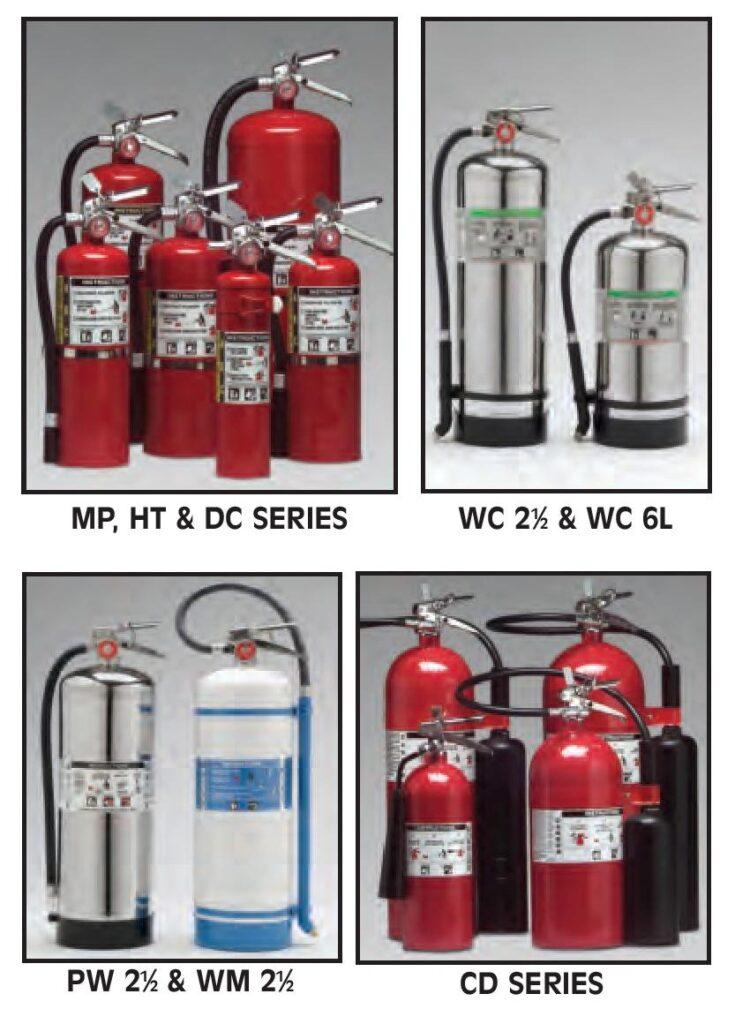 Larsen fire extinguishers