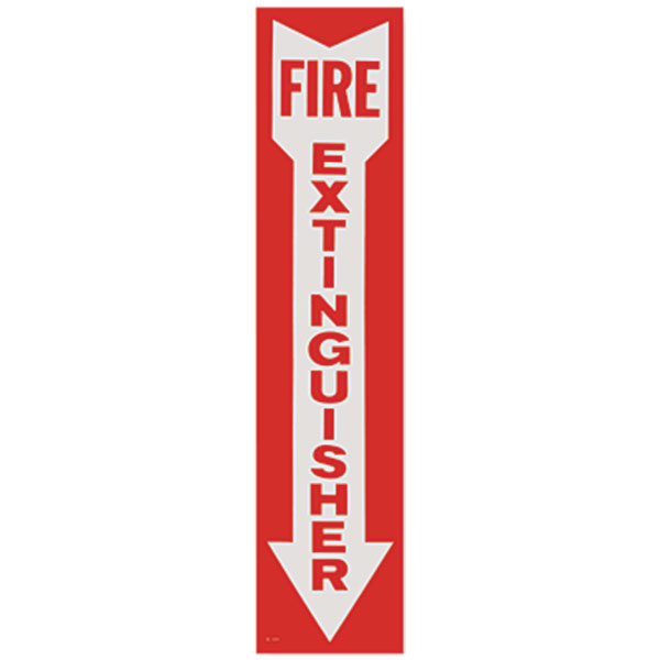 Self-Adhesive Vinyl Fire Extinguisher Sign BL109