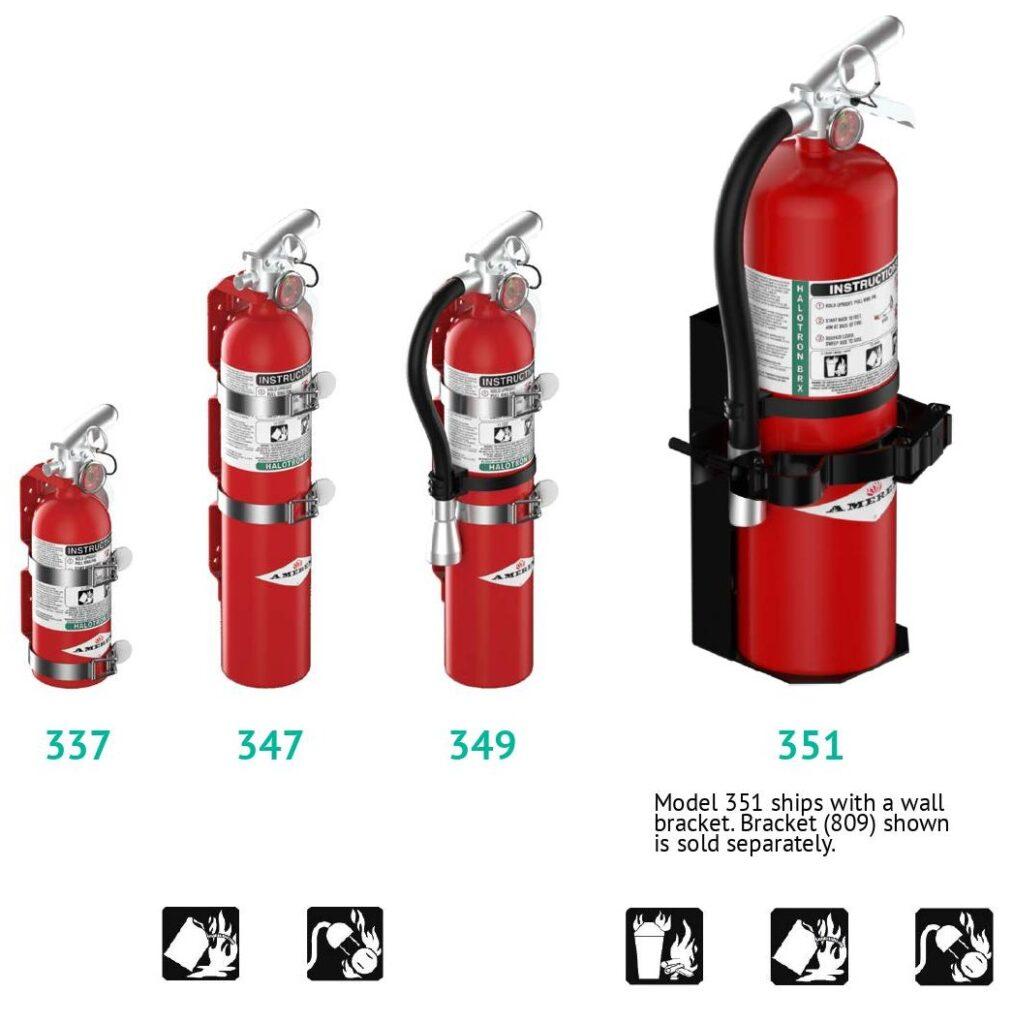 halotron brx fire extinguishers