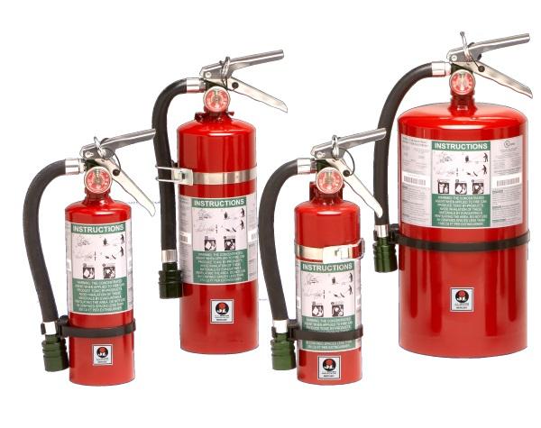 mercury  fire extinguisher
