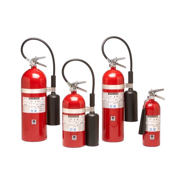 sentinel carbon dioxide fire extinguisher
