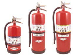 high performance dry chem stored pressure fire extinguishers