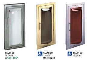 Clear vu cabinets
