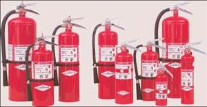 Amerex regular dry chem fire extinguishers