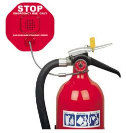 safety tech fire extinguisher alarm