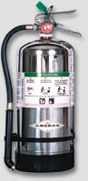 wet chemical stored pressure fire extinguisher